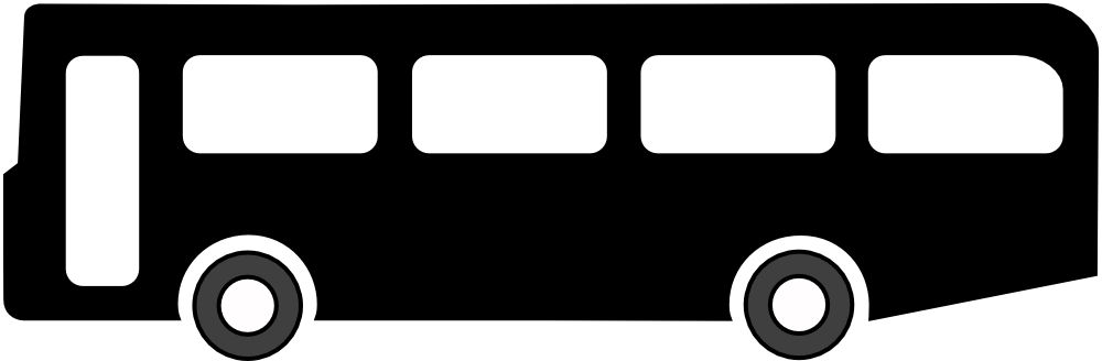 1000x328 Bus Black And White Bus Clip Art Black And White Free Clipart