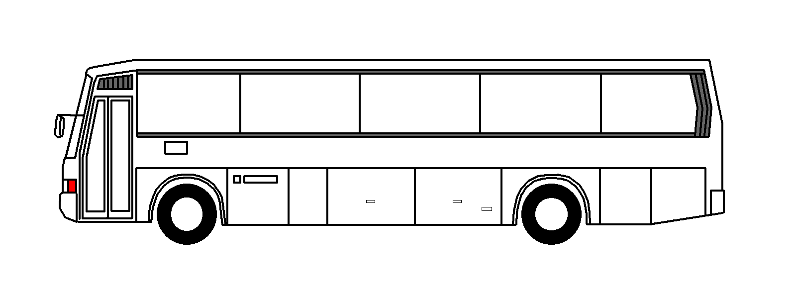 1600x601 Bus Clipart Black And White Png