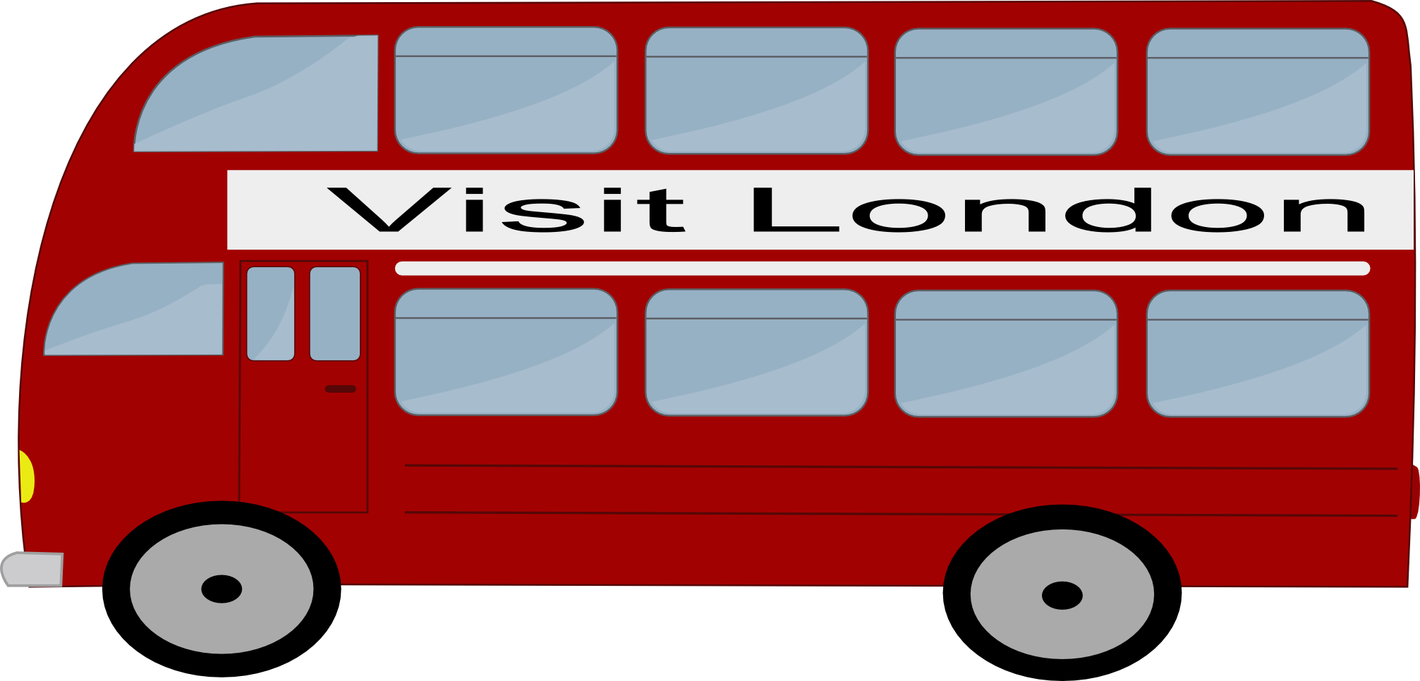 2013x966 Free Bus Clipart Image