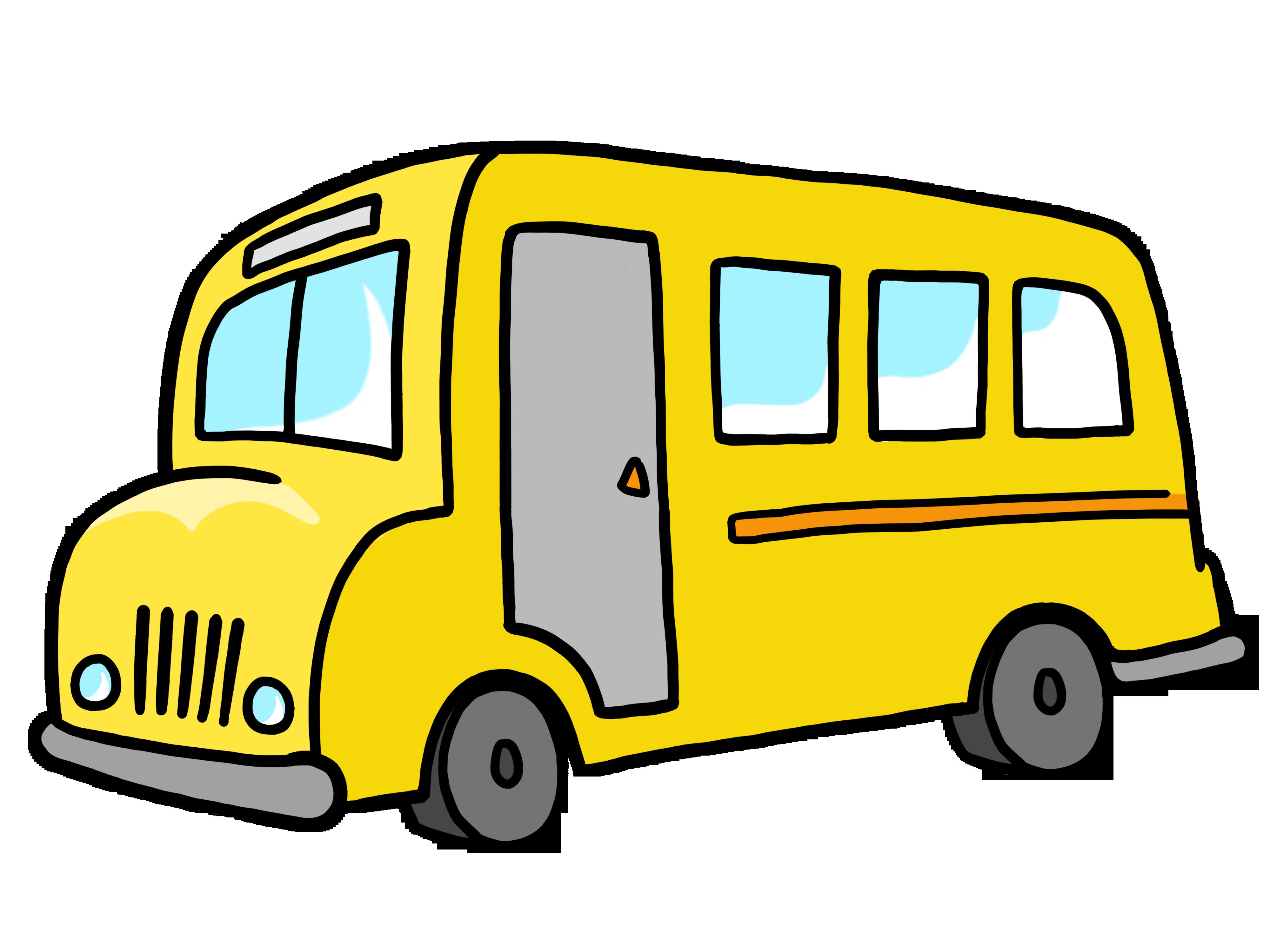 4000x3000 Free School Bus Clip Art Buses Clipartix 3