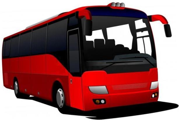 614x422 Tour Bus Clip Art