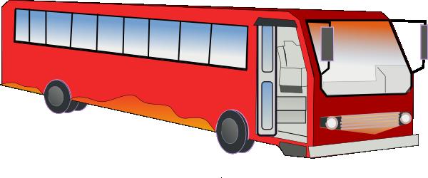 600x250 Bus Clip Art