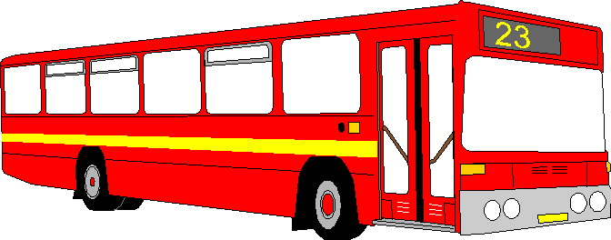 672x264 Bus Clip Art Free Clipart Images Wikiclipart