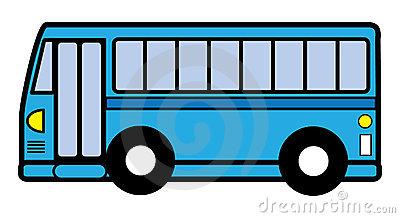 400x218 City Bus Clipart