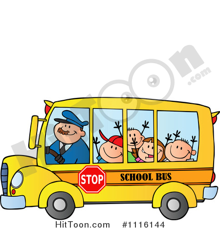 450x470 School Bus Clipart