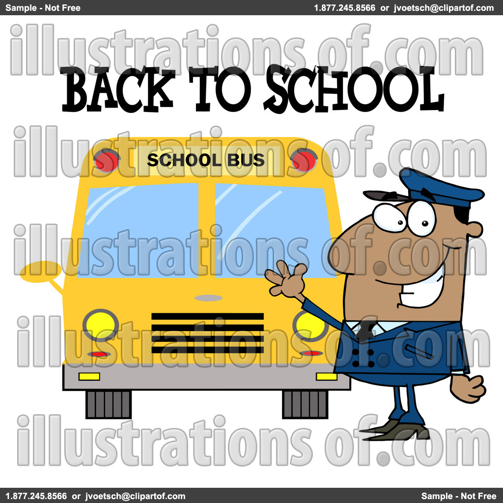1024x1024 Free School Bus Driver Clipart