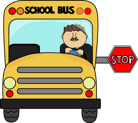 450x400 Bus Clipart Driving School