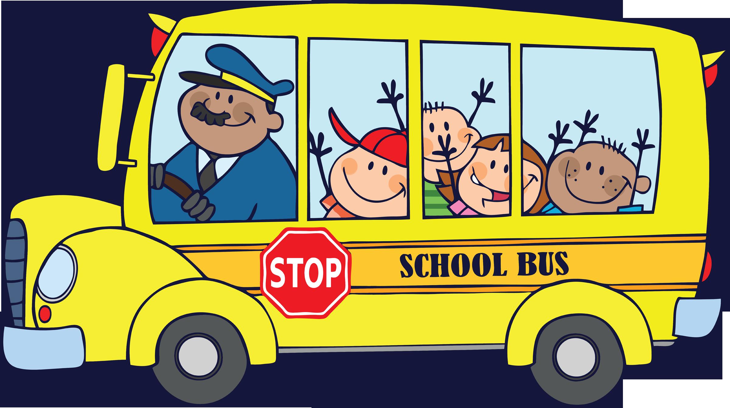 2400x1341 Free School Bus Clipart 2
