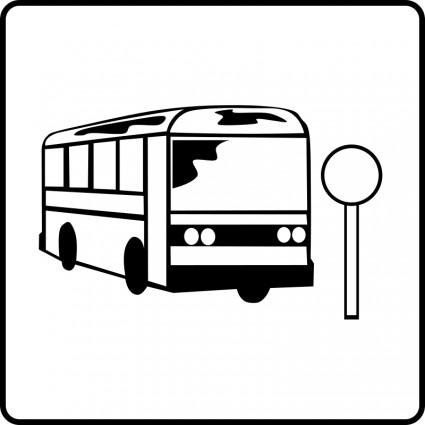 425x425 Arret De Bus Clipart