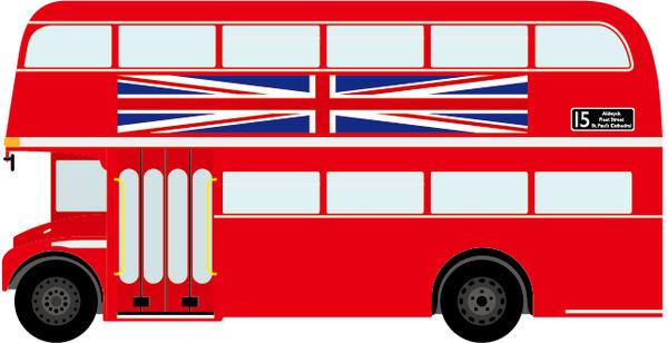 600x308 London Clipart London Bus Clipart