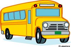 242x162 School Bus Clip Art