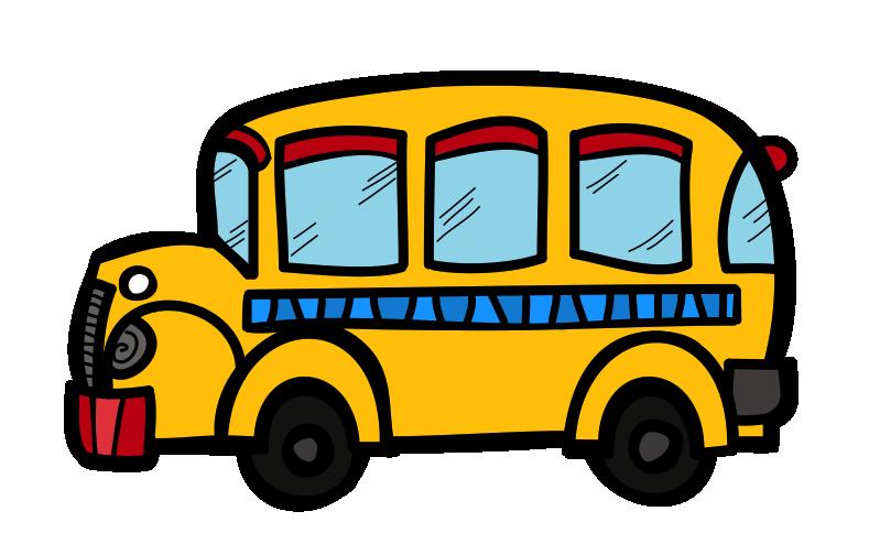 789x494 School Bus Cute Bus Clipart Kid