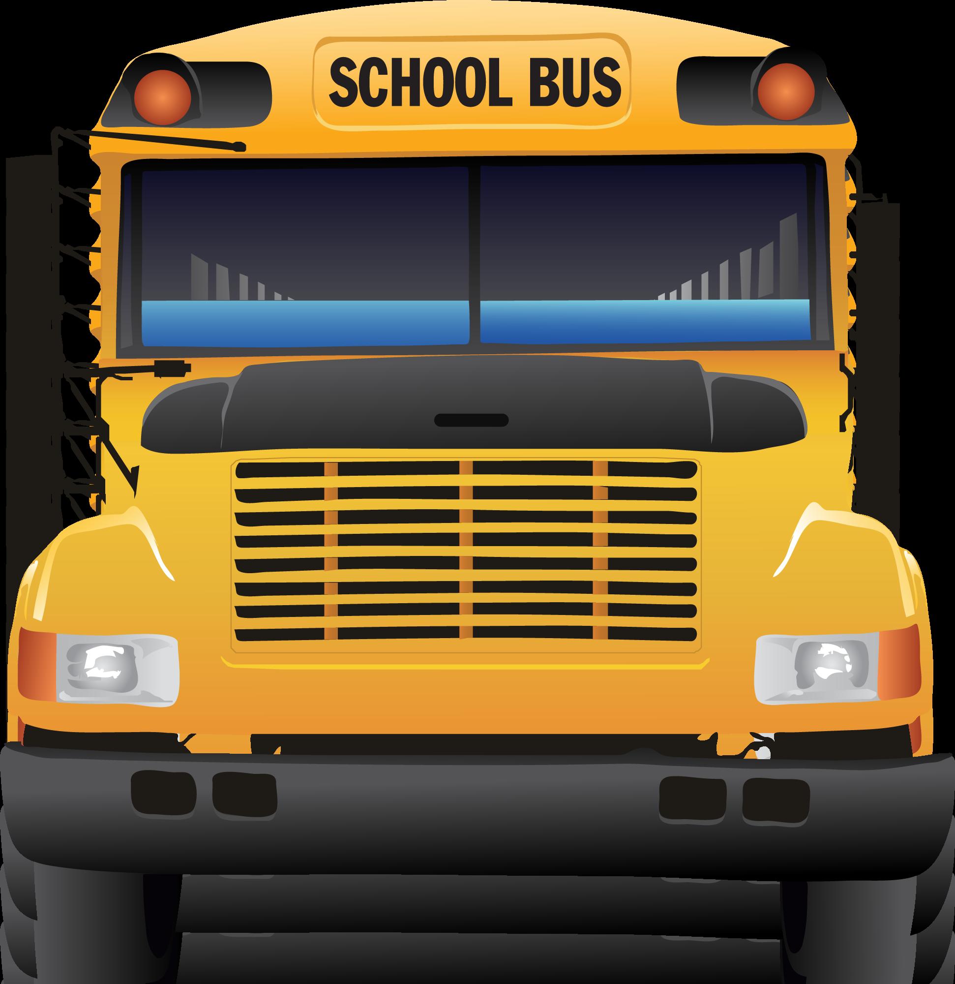 1942x2000 Bus Clipart Front View