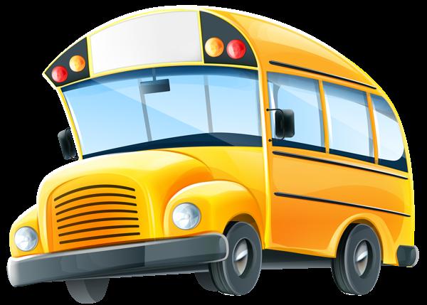 600x429 Bus Clipart Transparent Png