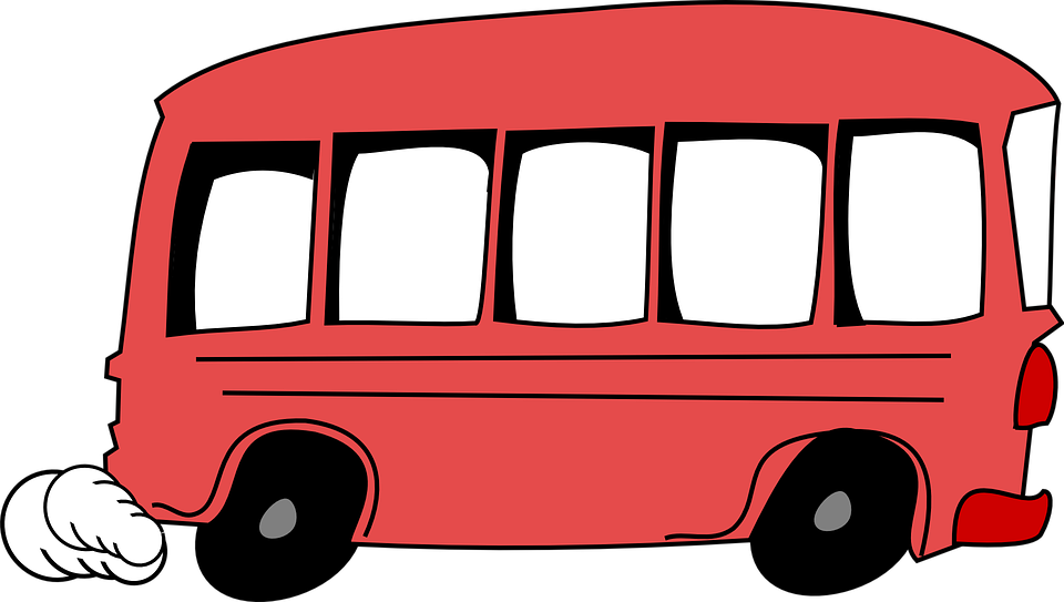 960x543 Bus Clipart Funny