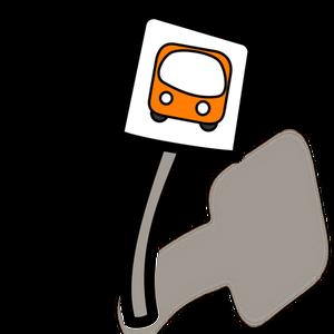 300x300 8623 Bus Stop Clip Art Sign Public Domain Vectors