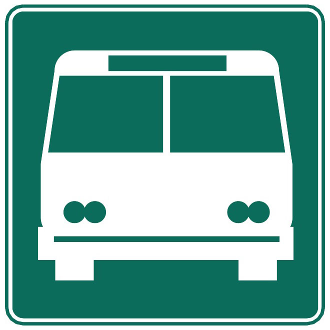 660x660 Bus Stop Vector Sign