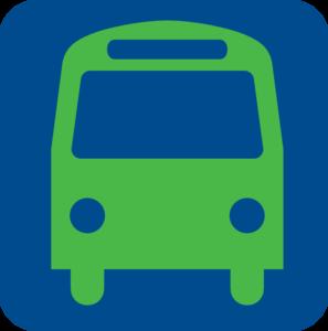 297x300 Bus Stop Icon (Blue) Clip Art Clipart Panda