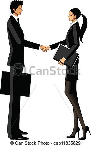 293x470 Business Clipart Men And Woman