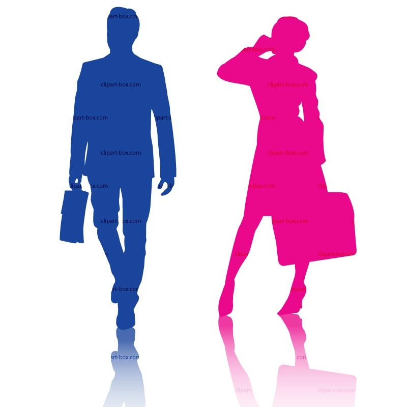 800x800 Man And Woman Clipart Collection
