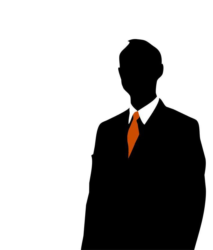 736x863 Man In Suit Silhouette Clip Art