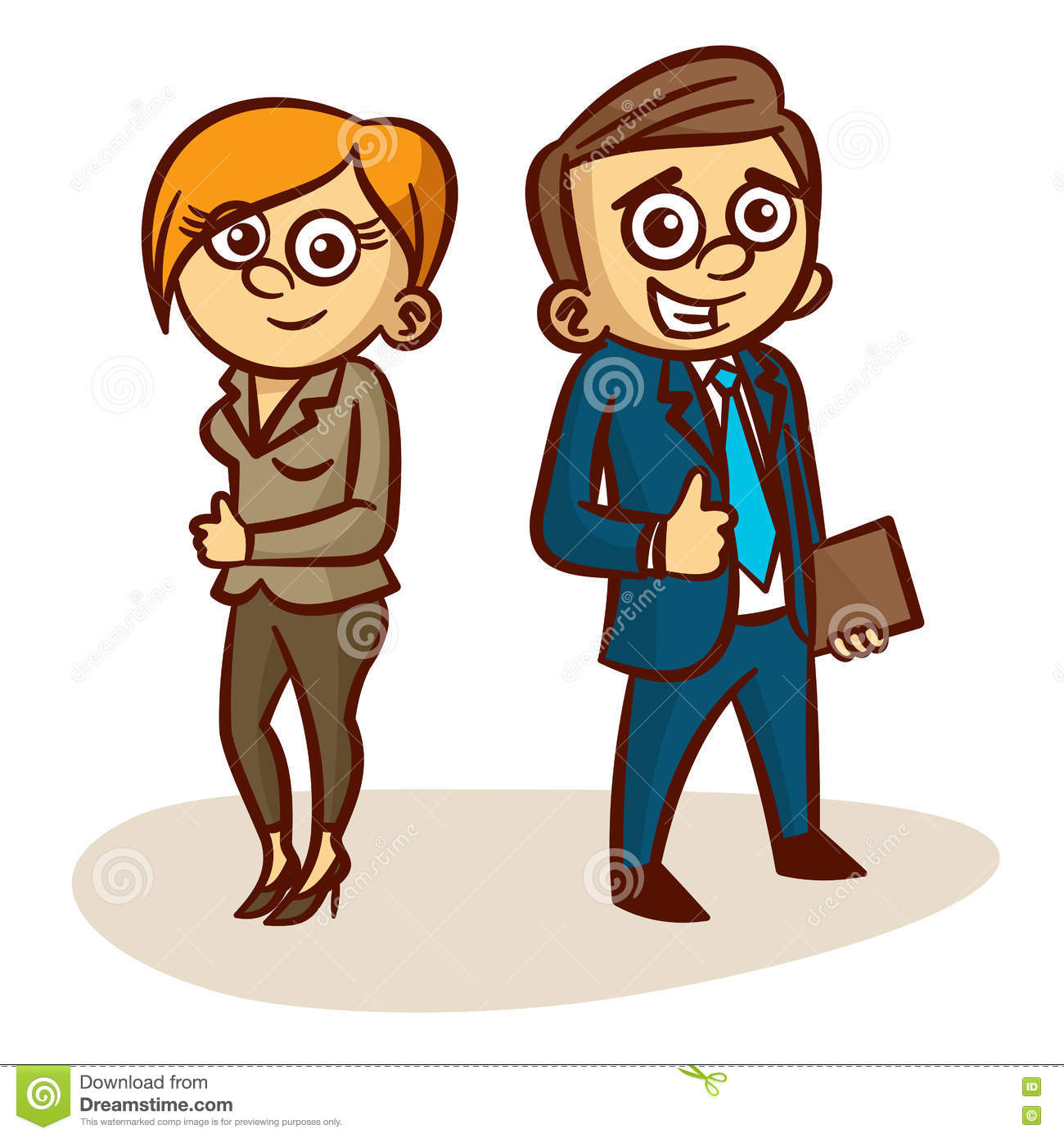 1300x1390 Business Clipart Men And Woman