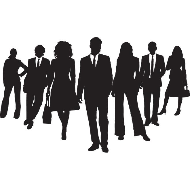 660x660 Shadow Clipart Business Person