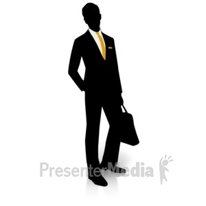 300x300 Of Silhouette Of African American Business Men
