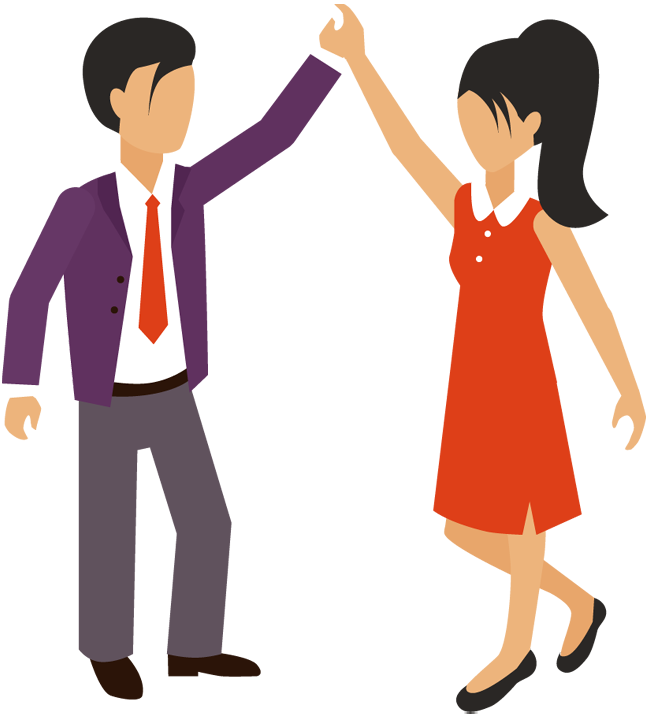 650x720 Business Clipart Men And Woman