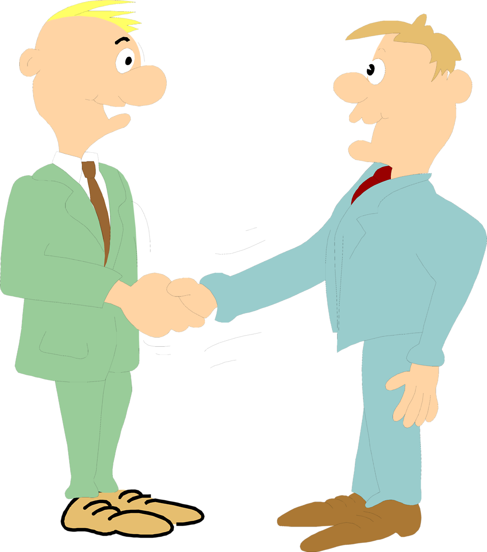 958x1084 Business People Shaking Hands Clipart