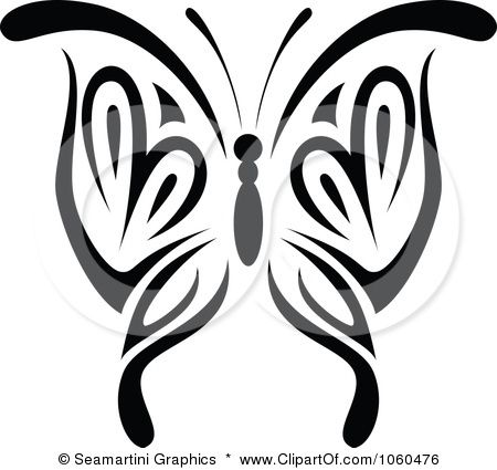 450x425 Best 25+ Butterfly black and white ideas Papillion