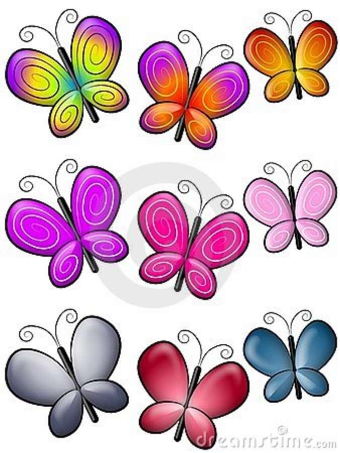 676x900 Butterfly Border Clip Art 101 Clip Art