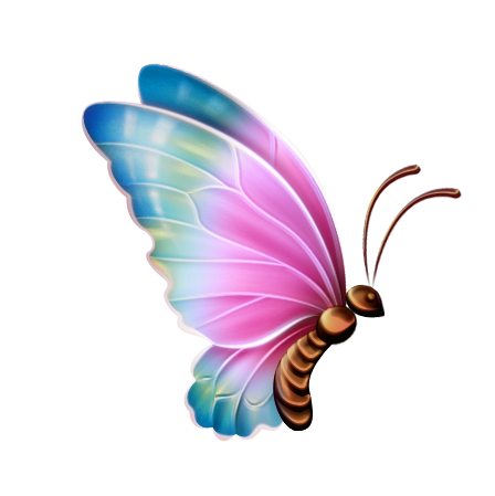448x449 Butterfly Clip Art Purple Animals Bugs Image