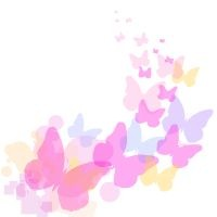 200x200 Free Clipart Butterfly Coloring Pages Butterfly