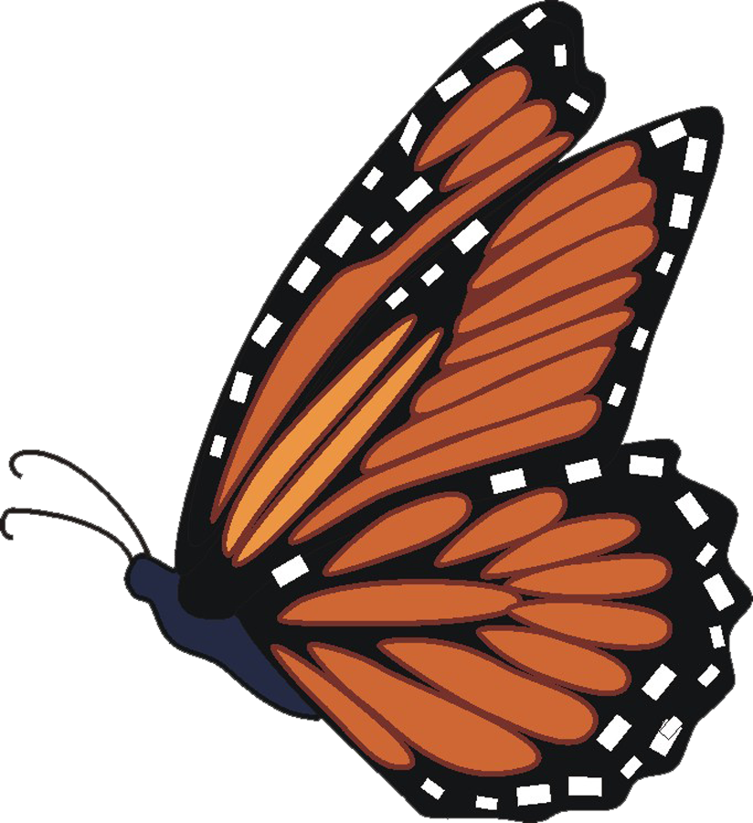 824x900 Monarch Butterfly Clip Art Many Interesting Cliparts