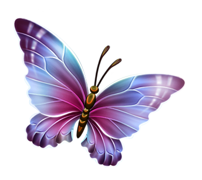 395x351 Pink And Purple Butterfly Clipart Clipart Panda