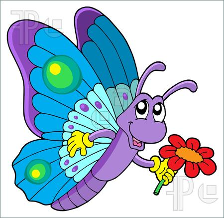 450x437 Butterfly Clipart Butterfly Flower 2691803