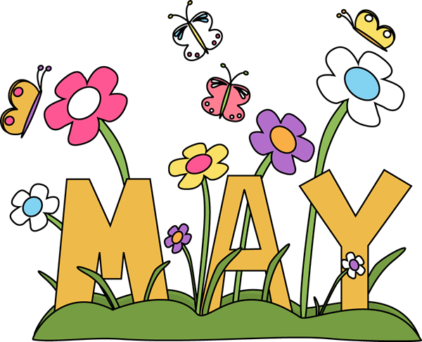 600x486 18 Very Beautiful May Day Clipart Pictures