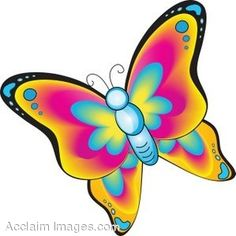 236x236 Clipart Butterflies And Flowers