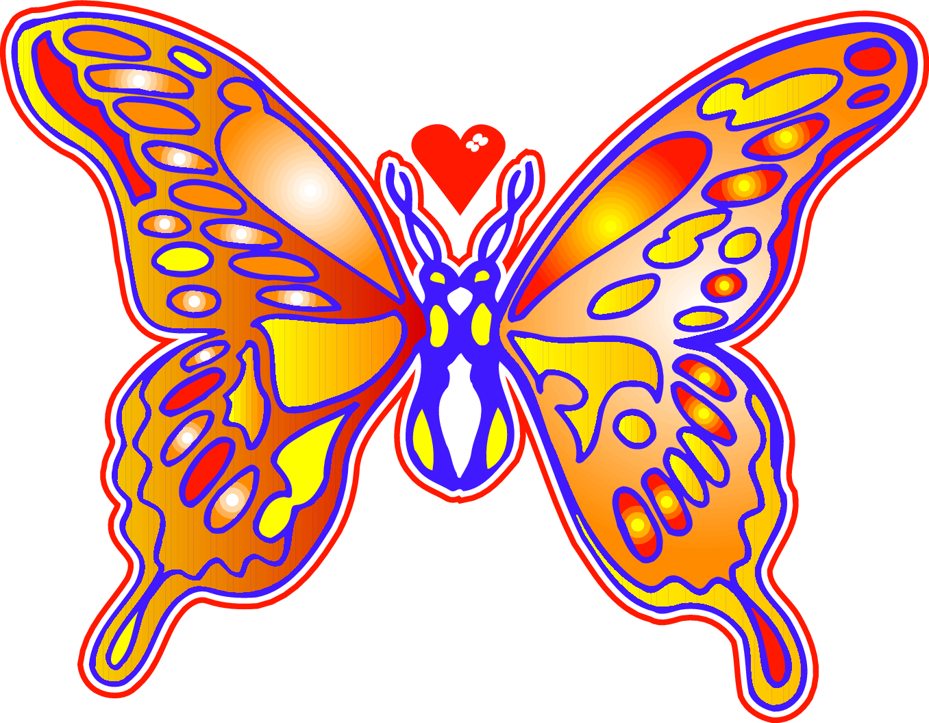 1356x1055 Flowers Butterflies May Clipart Clipartfest 2