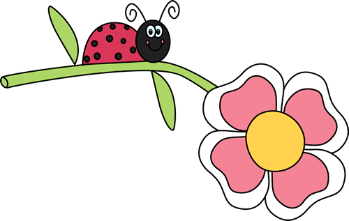 500x317 Lady Beetle Clipart Cute Butterfly