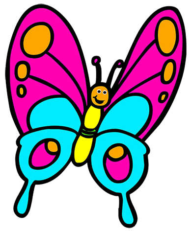 391x472 Clip Art Butterfly Amp Look At Clip Art Butterfly Clip Art Images