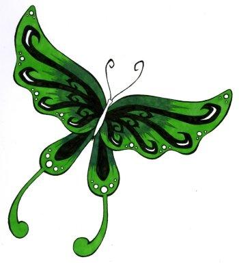 350x386 25 Butterfly Art