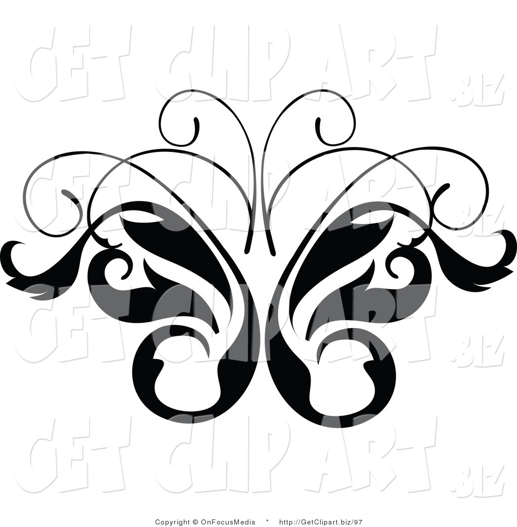 1024x1044 Butterfly Vine Clipart (30+)