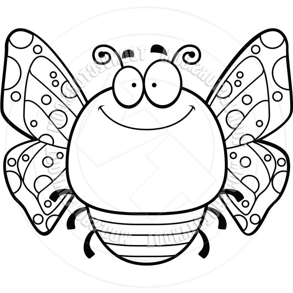 940x940 Top Butterfly Black And White Caterpillar Clipart Free Cdr
