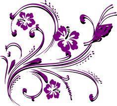 236x214 Butterfly Border Clip Art New Purple Butterfly Scroll Clip Art