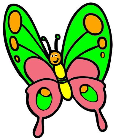 391x472 Butterfly Clip Art Butterfly Clipart Graphicsde 2