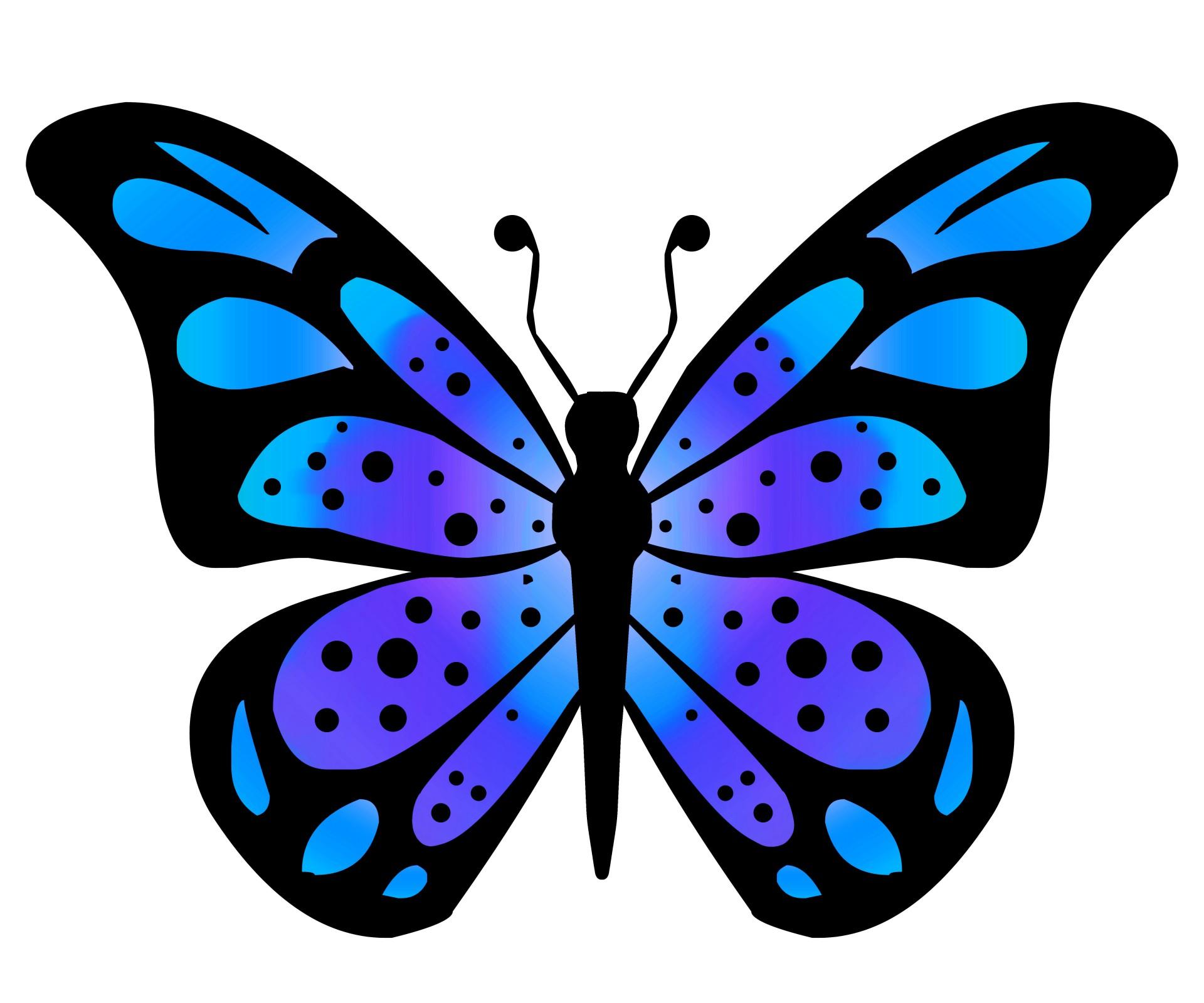 1920x1600 Butterfly clip art