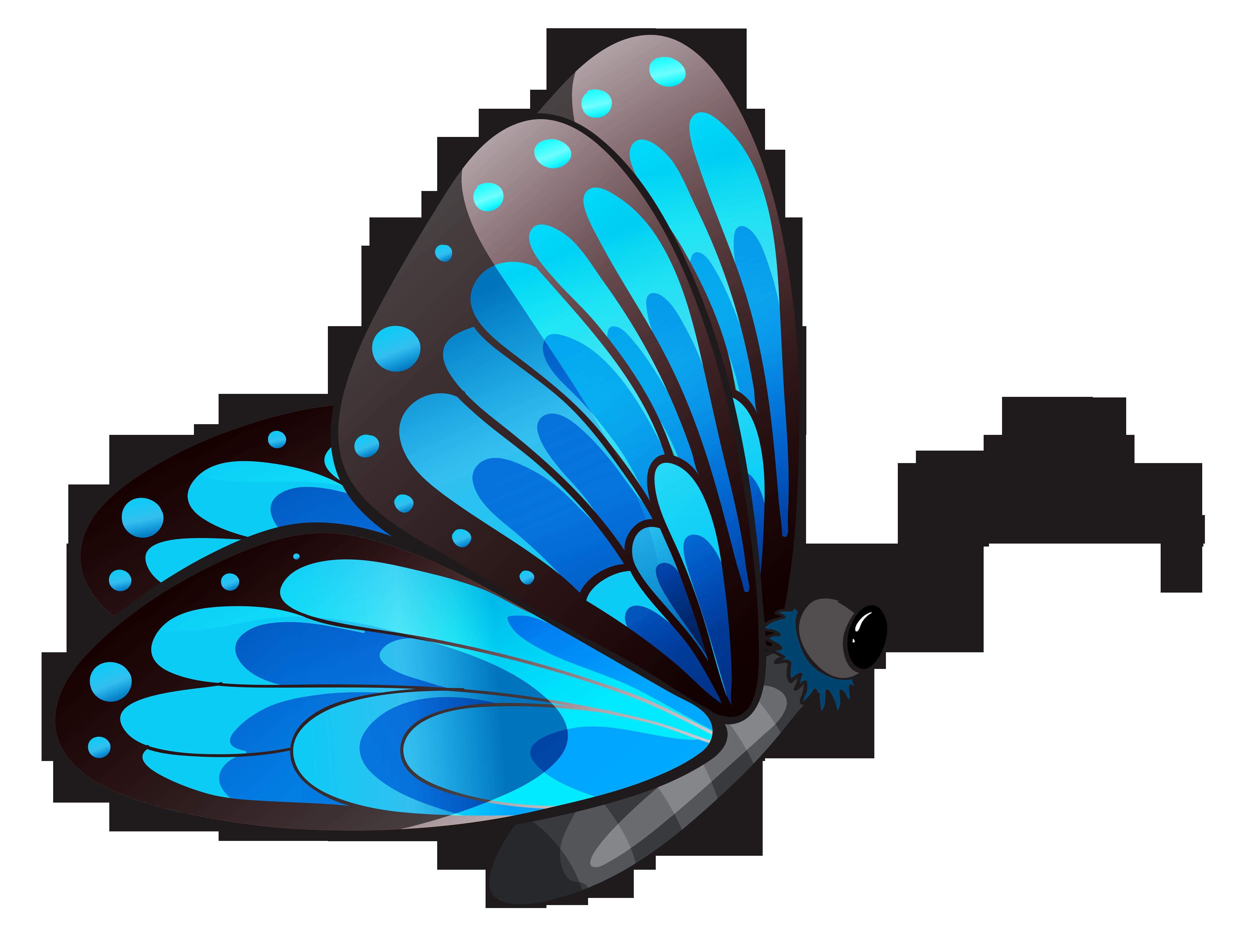 4155x3205 Clip art butterfly clipartiki 2