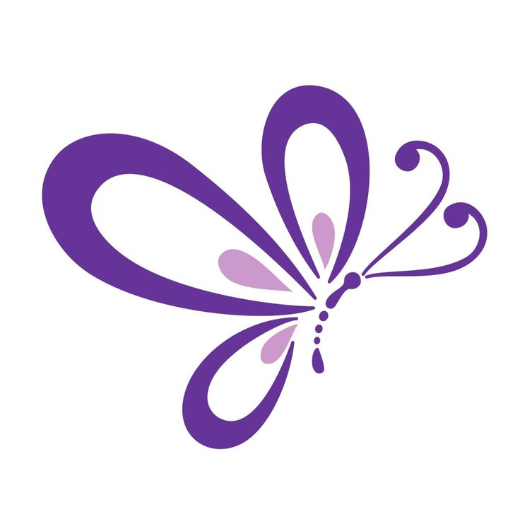 736x741 purple butterfly clip art – Cliparts
